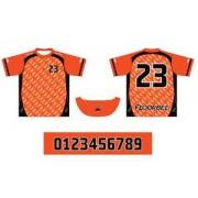 FLOORBEE Uniform RN Jr. M oranžová / černá