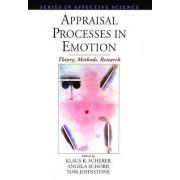 Appraisal Processes in Emotion by K. Scherer