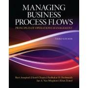 Managing Business Process Flows by Ravi Anupindi