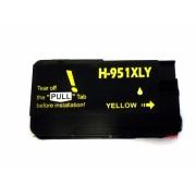 Yellow Tintenpatrone für HP Officejet Pro 8600 Plus / Premium / E-ALL-IN-ONE kompatibel zu HP951XL ( CN048AE ) mit Chip und Füllstandsanzeige