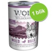 Wolf of Wilderness Blik 1 x 400 g Hondenvoer - Wild Hills - Eend