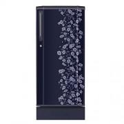 Haier 190 L 4 Star Direct-Cool Single Door Refrigerator (HRD-2105PBD-H, Blue Daisy)