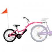 Bicicleta WeeRide Co-Pilot roz