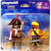 Playmobil 5802 Captain Pirate & Pirate with Monkey