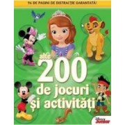 200 de jocuri si activitati vol.2 Disney Junior