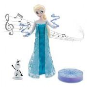 Disney Frozen Elsa Deluxe Singing Doll Set Olaf - 11 Sings & Glows