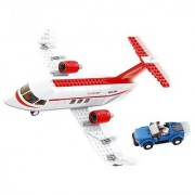 Sluban Private Jet Aviation Building Kit (275 Pieces)