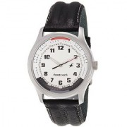 Fastrack Analog White Dial Mens Watch - NE3001SL01