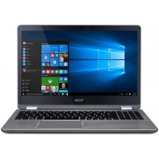 "Laptop 2in1 Acer Aspire R5-571TG (Procesor Intel® Core™ i5-6200U (3M Cache, up to 2.80 GHz), Skylake, 15.6""FHD, Touch, 8GB, 1TB + 128GB SSD, nVidia GeForce 940MX@2GB, Wireless AC, Tastatura iluminata, Windows 10, Argintiu)"