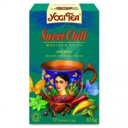 YOGI TEA (herbatki) HERBATKA SŁODKIE CHILI BIO (17 x 1,8 g) - YOGI TEA