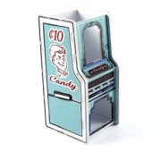 Porta Lapis Arcade Candy Doces Vintage