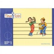 Bosse Verlag - Tina + Tobi, Notenheft 1 Notenschreibheft 1. Halbjahr