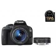 Canon EOS 100D kit (18-55mm IS STM, 40mm STM)