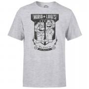 Nintendo® Mario Kart Fix-It Team Heren T-shirt - Grijs - S - Light Grey