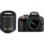 Nikon D3300+AF-P 18-55 + 55-200VRII