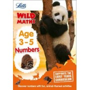 Maths - Numbers Age 3-5 by Letts Preschool