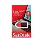 SanDisk Cruzer Switch clé USB 16 Go 16G 16Go SDCZ52-016G-B35