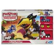 Angry Birds Transformers Jenga Optimus Prime Attack