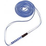 Mammut Contact 8.0 Opaska wspinaczkowa 120cm niebieski/biały Drabinki linowe