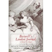 Boswell's London Jnl 1762-1763 by James Boswell