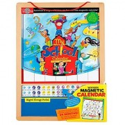 T.S. Shure My School Wooden Magnetic Calendar