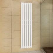 vidaXL Biely vykurovací radiátor 465 x 1800 mm s vešiakom na uteráky