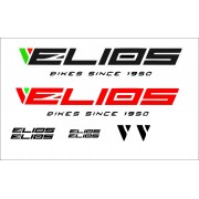 Adesivi per MTB CORSA elios Bike made in italy