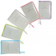 for REGULAR BIBLE: Transparent zipper cover for New World Translation