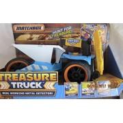 MATCHBOX Treasure Truck REAL WOKING METAL DETECTOR w SOUNDS to Hunt for Treasure (2015)