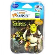 VTech V.Smile V.Motion Active Learning Games System Shrek Series Smartridge - SHREK FOREVER AFTER that Teaches Vocabular