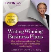 Rich Dad's Advisors: Writing Winning Business Plans by Robert T. Kiyosaki