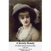 A Society Beauty de Emile Eisman Semenowsky (kit goblen)