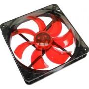 Ventilator Carcasa CooltekSilent Fan 140 Red LED 900rpm