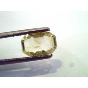 2.24 Ct Unheated Untreated Natural Ceylon Yellow Sapphire/Pukhraj