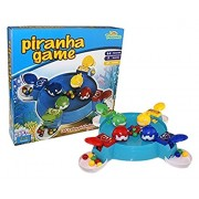Hungry piranha game, feed the hungry piranha before the other piranhas eat up all the balls fun kids 3D board game by Little Treasures