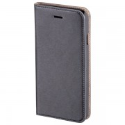 Husa Flip Cover pentru iPhone 6 Plus, HAMA Slim Booklet, Dark Grey