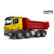 Bruder mercedes benz arocs camion con rimorchio ribaltabile movimento terra 3623