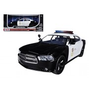 2011 Dodge Charger Pursuit LAPD Los Angeles Police Department Car 1/24 Car Model by Motormax
