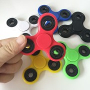 8styles Tri-Spinner Fidget Toy Plastic EDC Hand Spinner For Autism and ADHD Anxiety Stress Relief Focus Toys Kids Gifts