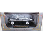 Chevrolet Bel Air convertible, negru, 1:32, Signature