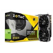 ZOTAC GeForce GTX 1070 8GB Mini ZT-P10700G-10M Three DP + HDMI + DVI Scheda Video Gaming VR Ready
