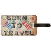 Exoctic Silver AJAY LUGGAGE TAG ( BTT )001 Luggage Tag(Multicolor)