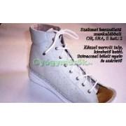 Komfort Style kismama cipõ, fehér száras munkalábbeli