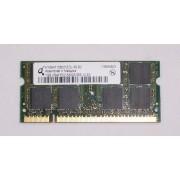 Memorie laptop 1GB DDR2 Qimonda 2Rx8 PC2-5300S-555-12-E0