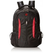 SwissGear Laptop Computer Backpack SA1288 (Black/Red) Fits Most 15 Inch Laptops