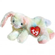 Cottonball the Ty-Dyed Pastel Nappy Easter Bunny Rabbit - Ty Beanie Babies by Beanie Babies - Rabbit