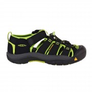 Keen Newport H2 Kinder Gr. 36 - schwarz grün / black/lime green - Wassersportsandalen