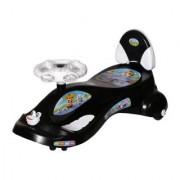 NHR Kids Deluxe Free Wheel Magic swing concept car Ride-on(Black)