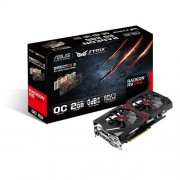 Asus VGA R9 285 STRIX OC Scheda Grafica da 2GB, GDDR5, HDMI, Nero