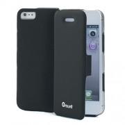 Husa tip carte Muvit Muage0012 neagra pentru telefon Apple iPhone 5/5S/SE